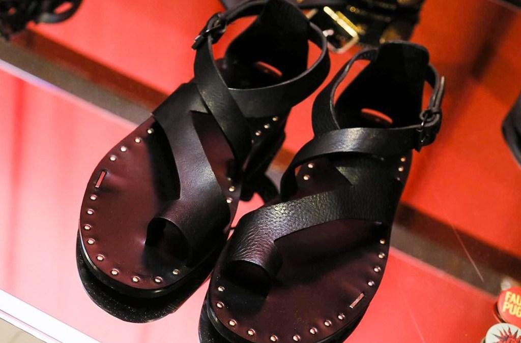 Fausto Puglisi Sandals SS18 Milan Menswear cover