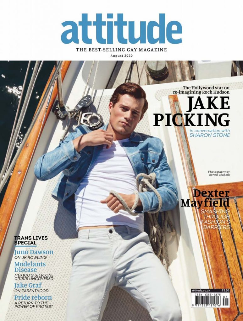 Rising Star Jake Picking for Attitude August 2020