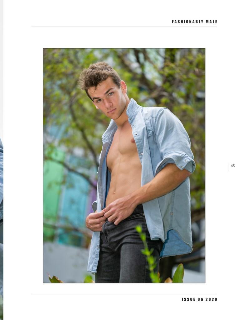 Jared Engeman by Steven Schmidt for PnVFashionablymale Magazine Issue 06