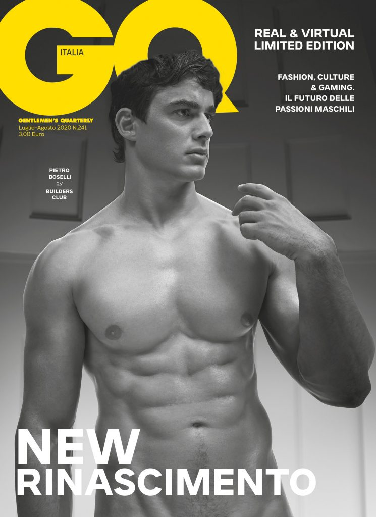 Pietro Boselli by Builders Club London for GQ Italia July-August 2020 Editorial