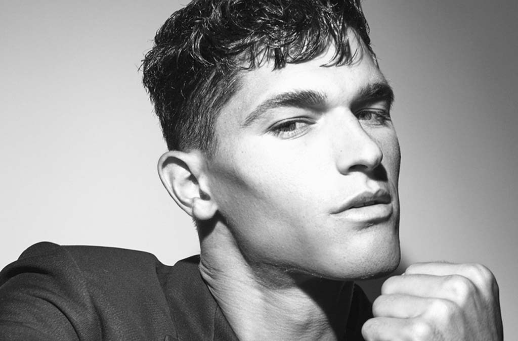 Top Model Trevor Signorino by Brendan Wixted for IRIS Covet Book cover