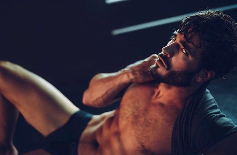 Model Andrew Biernat by Dexter Brown