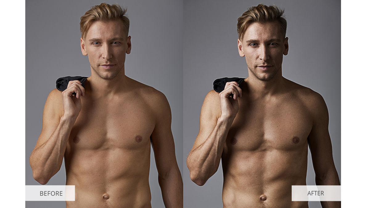 Male Model Photo Editing Tips