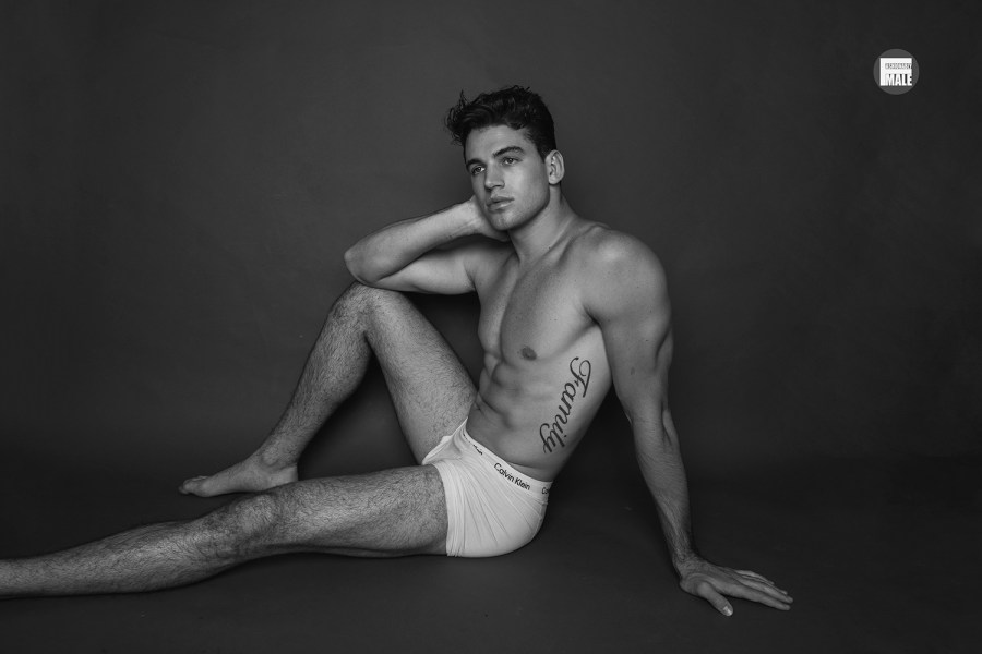 Thanks to David Anthony We Now Meet Model Noah Fearnley