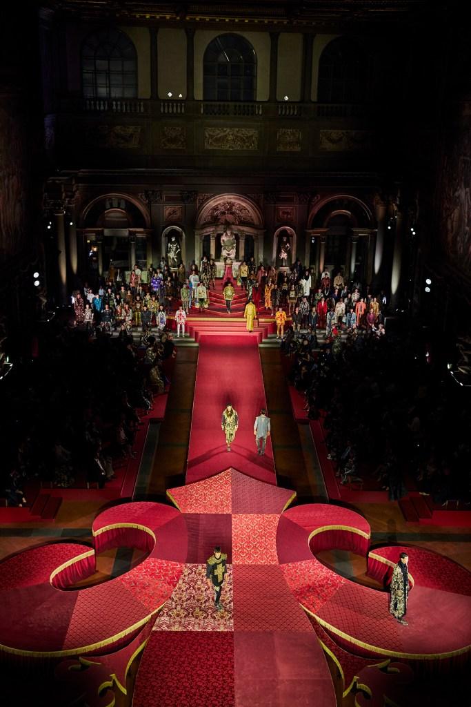 Dolce & Gabbana Menswear Alta Sartoria Palazzo Vecchio