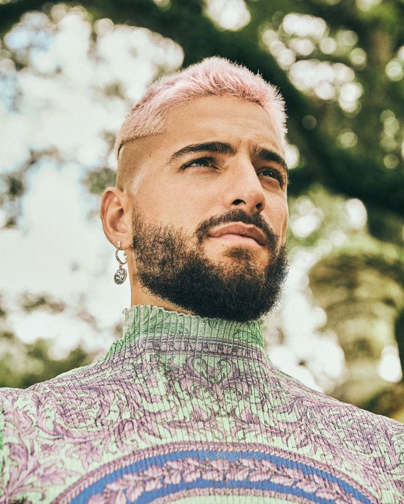 From Blue To Dusty Purple Cool Hair Color Ideas For Men Fashionably Male