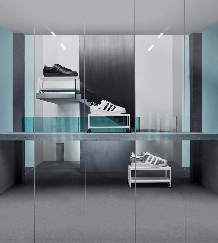 Sneak Peak for Prada and Adidas Sneaker Collaboration