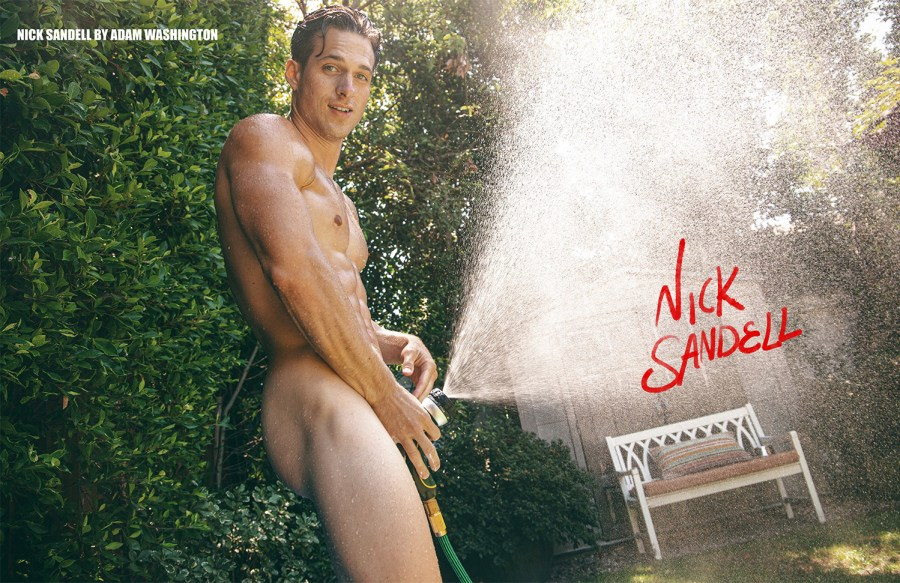 Nick Sandell by Adam Washington for PnVFashionably Male Issue 07 Oct/Nov 2020