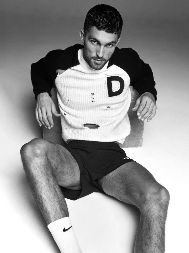 Model Tobias Sorensen for L'Officiel Hommes Poland