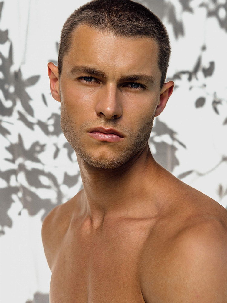 New digitals of Model Zach Grenenger
