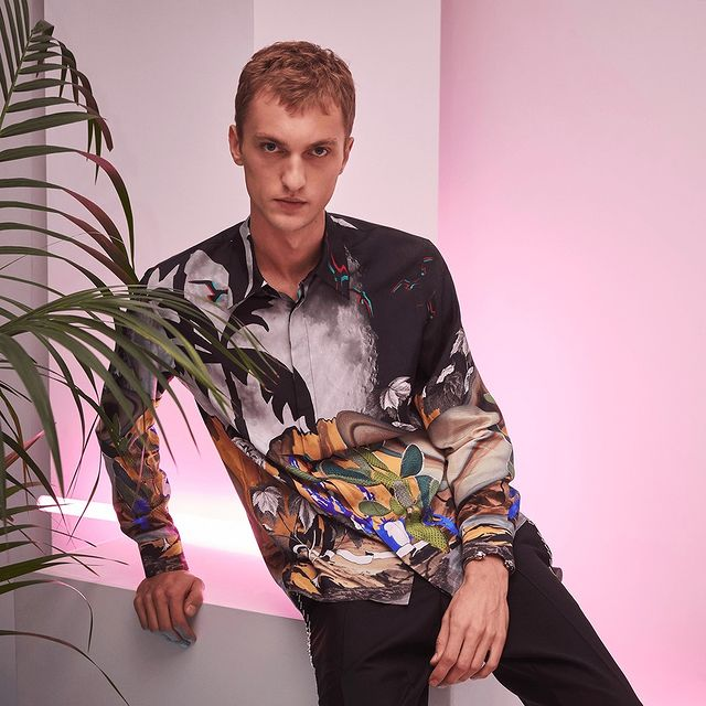 Roberto Cavalli Menswear Resort 2020 Collection