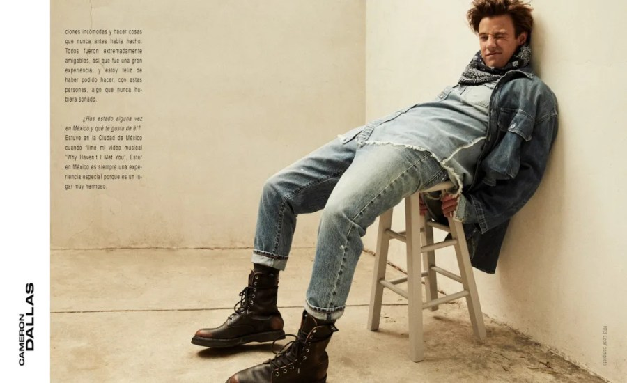 Cameron Dallas for M Magazine Milenio Editorial