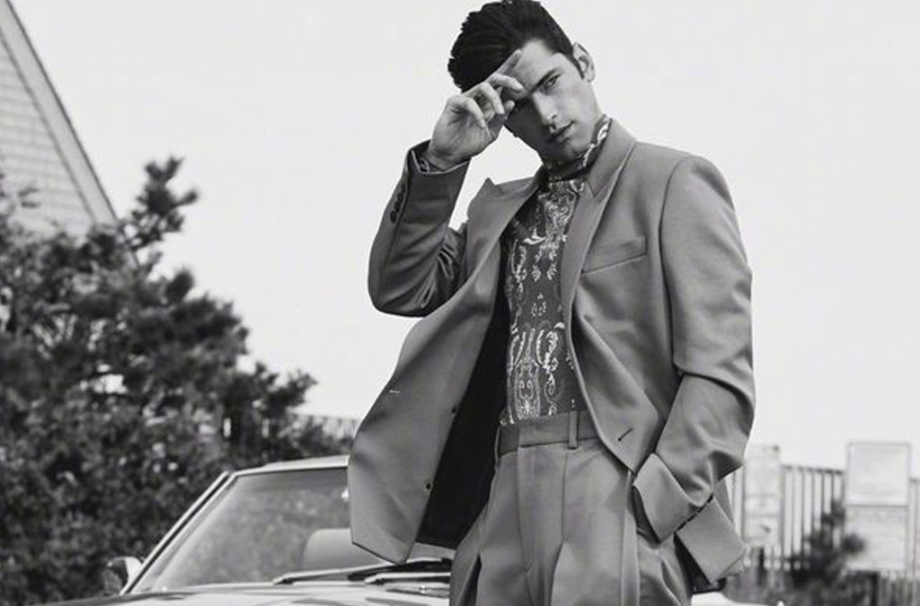 Sean O'Pry for L'Officiel Hommes Ukraine F/W 2021 cover