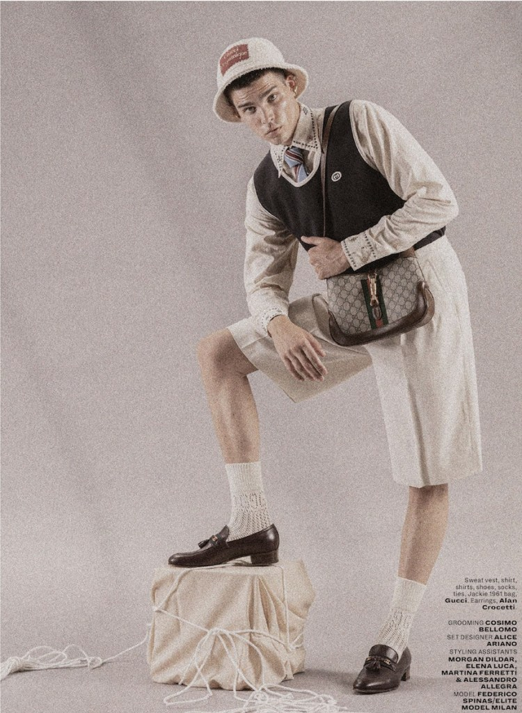 Federico Spinas by Alessio Matricardi for L'Officiel Malaysia Autumn/Winter 2020.21