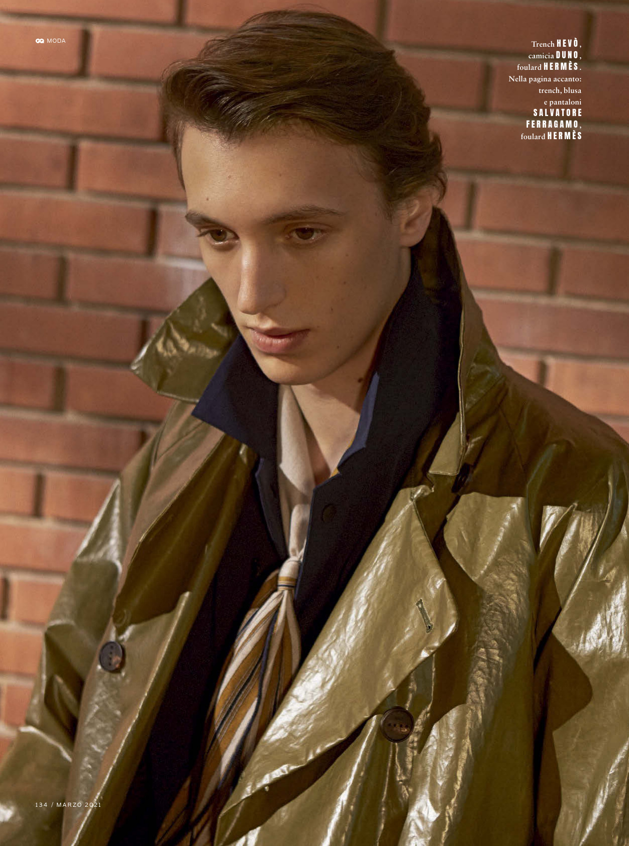 Antoine Duvernois, Theodor Pal for GQ Italia March 2021 Editorial