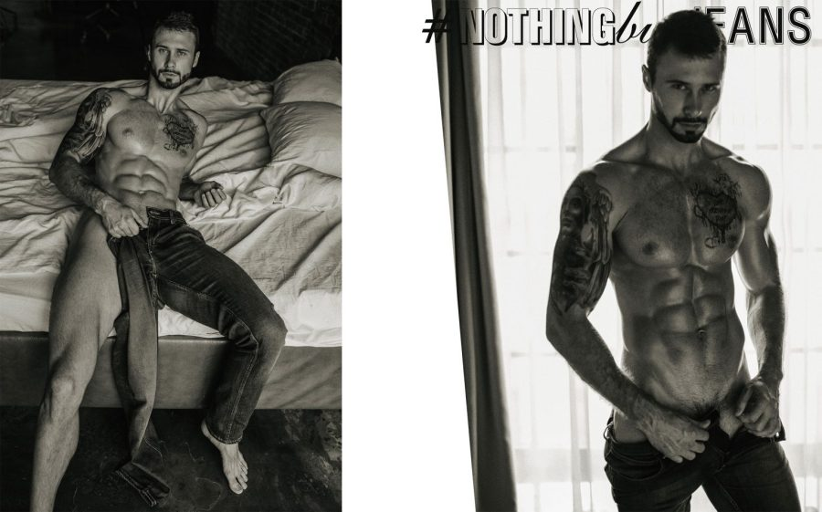 #NothingButJeans Series by Serge Lee featuring Vladimir Zloy Kaa