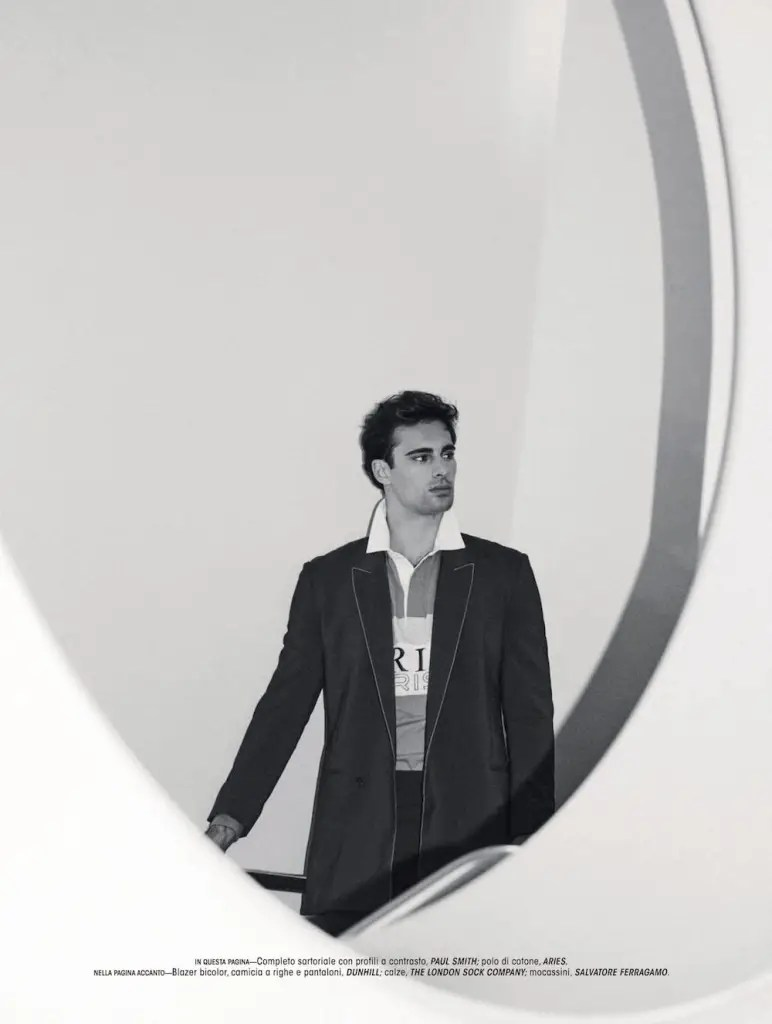 Elliot Meeten for L'Officiel Hommes Italia Spring 2021