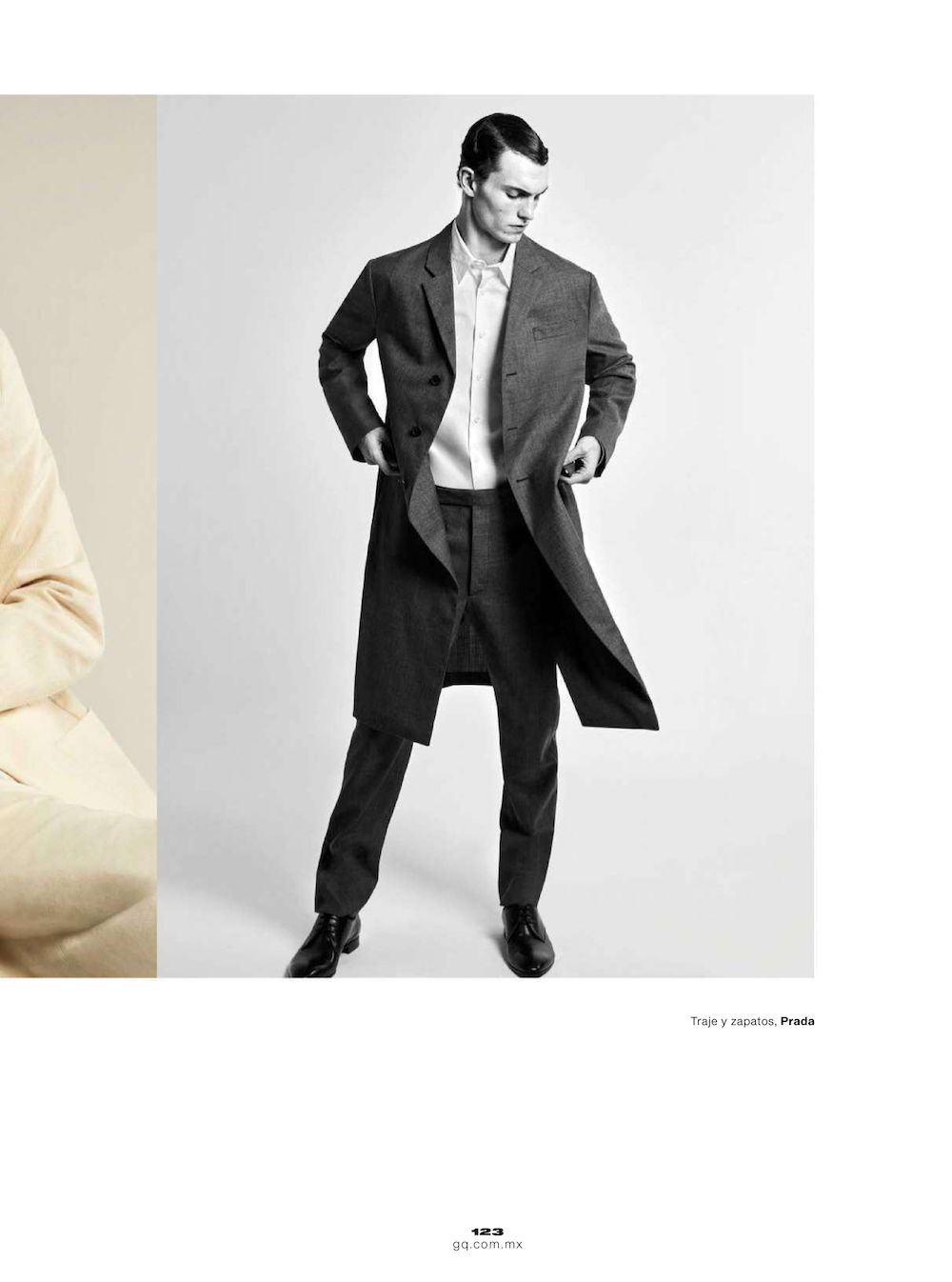 Luc Defont by Joseph Degbadjo for GQ Mexico April 2021 Editorial1