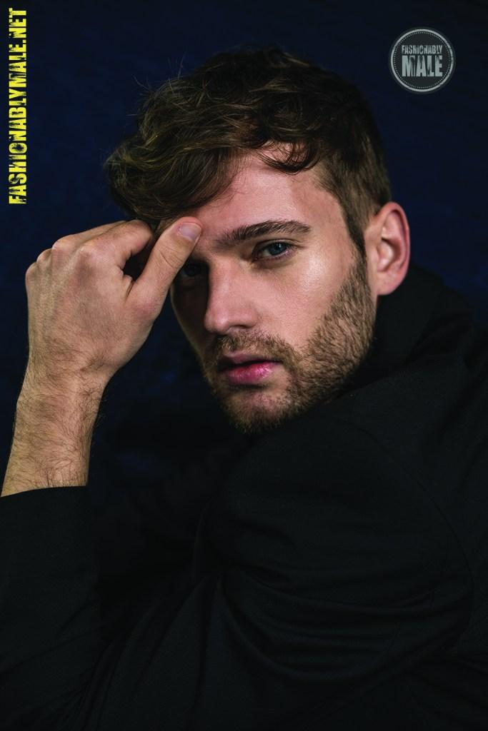 Sebastian Fiedler by Victor Lluncor for Fashionablymale