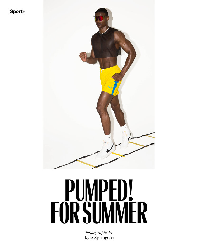 The Perfect Man released Pumped! For Summer by Kyle Springate