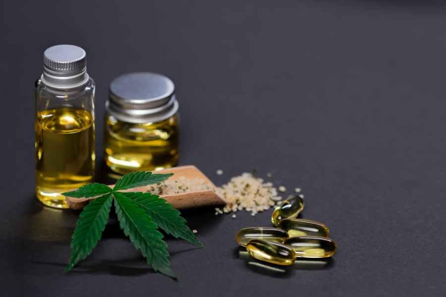 photo of marijuana edibles on dark background. Photo by Kindel Media on Pexels.com