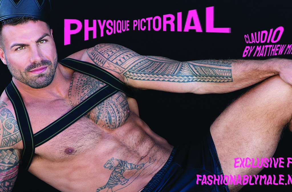 Claudio by Matthew Mitchell for Fashionably Male cover