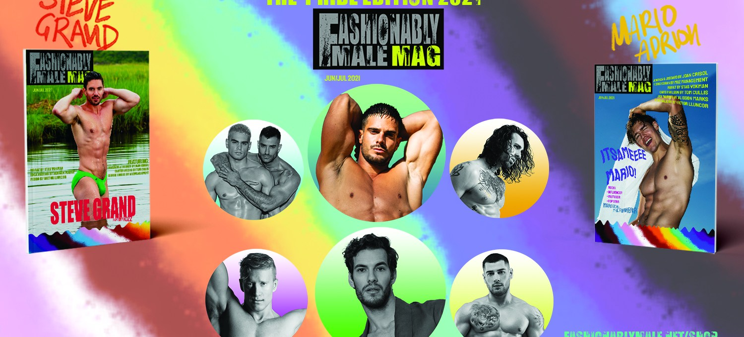 Banner Fashionably Male Mag Pride Edition 2021