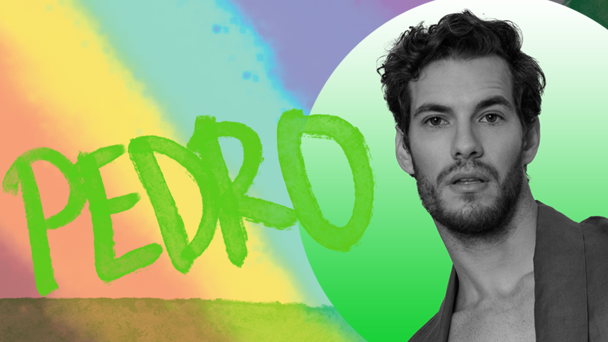 Pedro Salazar by Victor Lluncor Fashionably male Mag Pride Edition 2021 cover