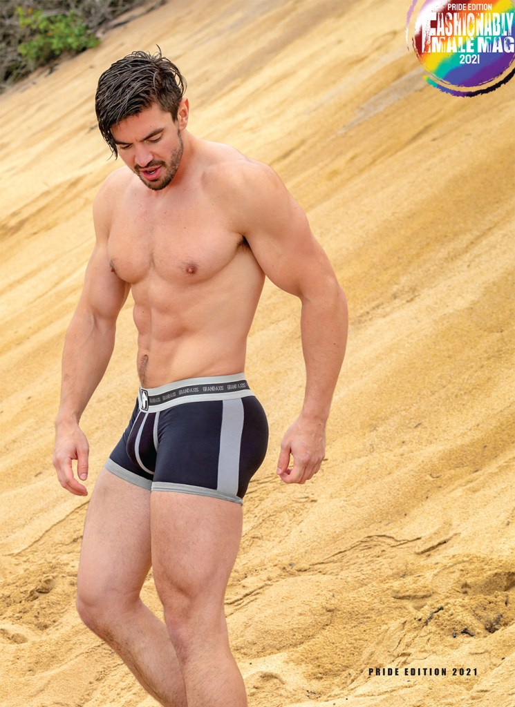 Steve Grand for Fashionably Male Pride Edition 2021