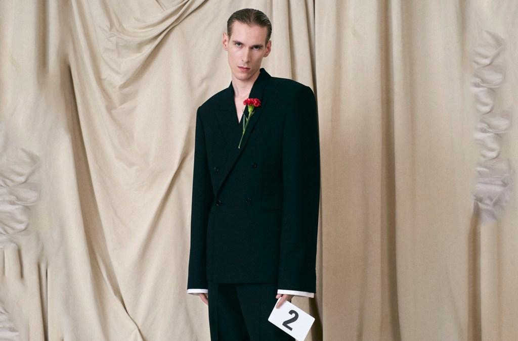 Balenciaga Couture Fall 2021 Milan cover