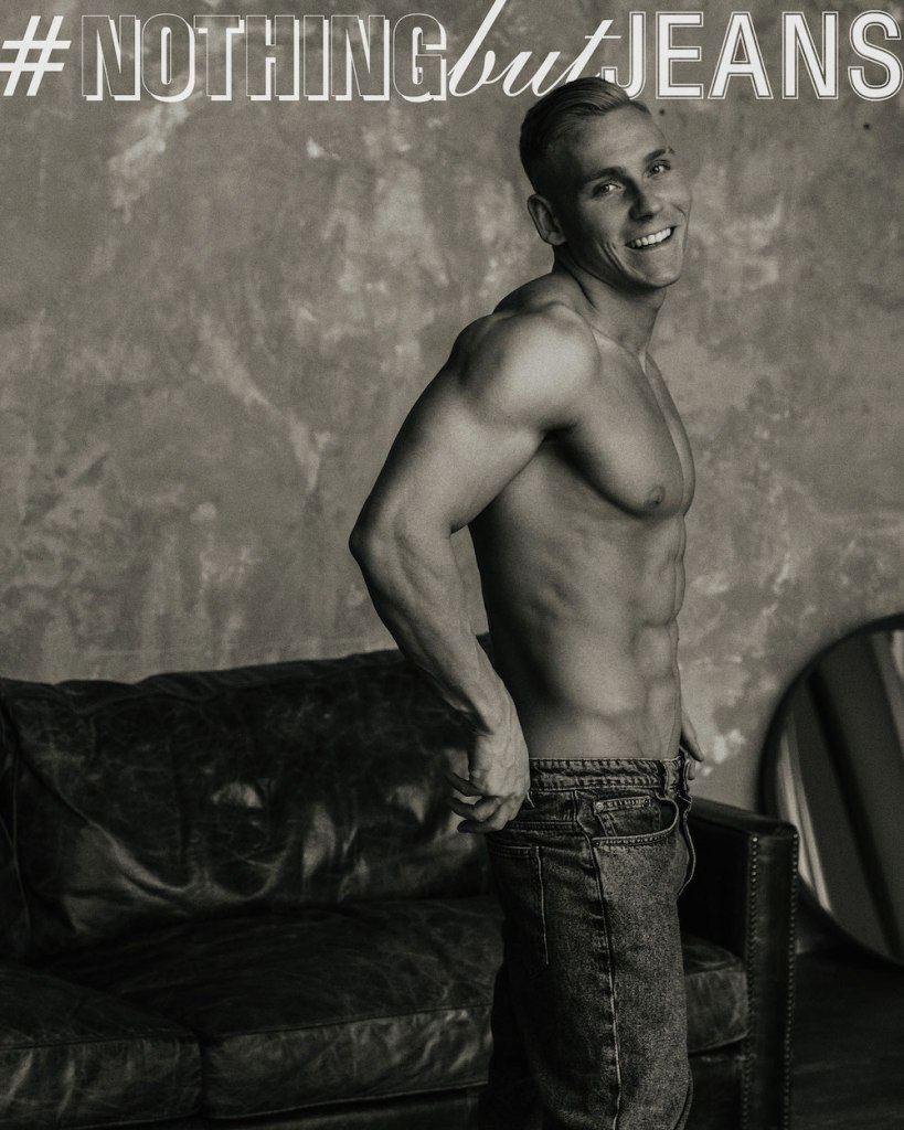 #NothingButJeans Series by Serge Lee featuring Vlad Titov