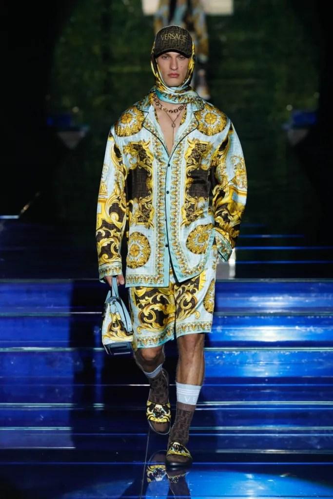 Versace x Fendi Men's Pre-Fall 2022 Collection