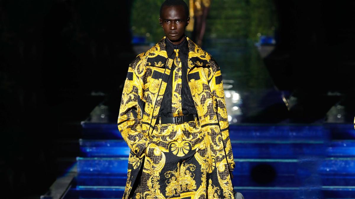 Versace x Fendi Men's Pre-Fall 2022 Collection cover
