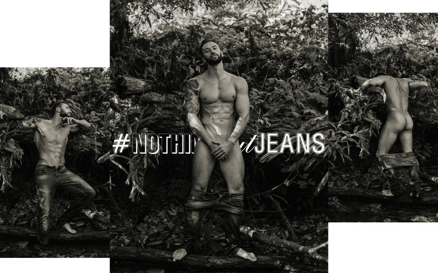It's Mikhail Fomin in #NothingButJeans by Serge Lee