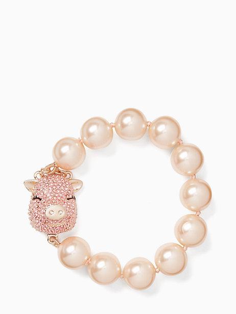 Pearl Pig Bracelet $108