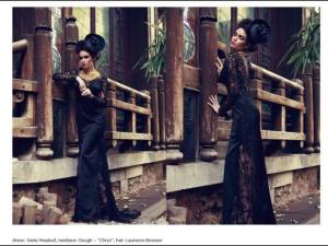 GEMY MAALOUF - A new photoshoot of the Spidery lace