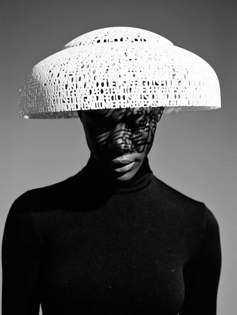 3D Printed Hat - Gabriela Ligenza