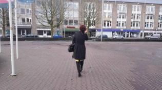 me walking in Arnhem