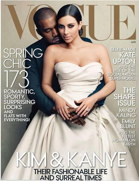 Kim-Kanye-Vogue