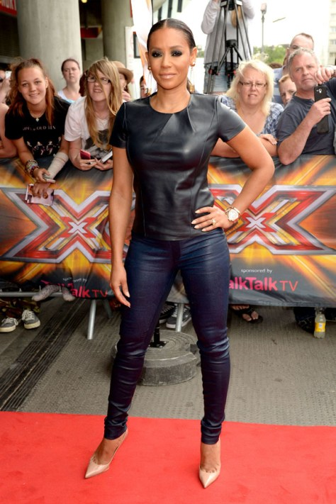 "The ""X Factor"" Judges get ready for Auditions in London **USA ONLY**"