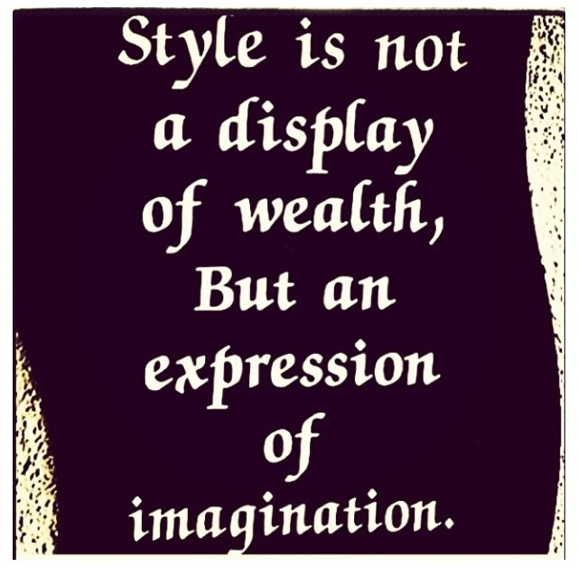 Style Quote Of The Week - fashionandstylepolice ...