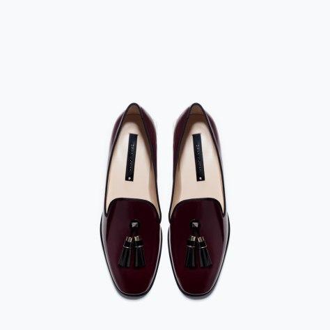 Zara Patent Slippers