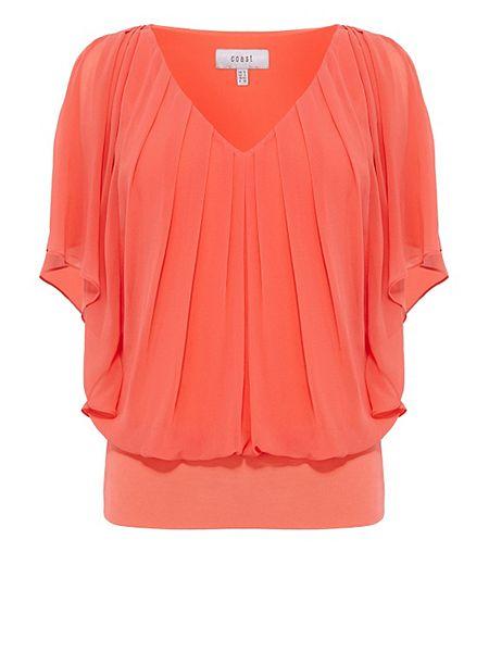 Coast Orange Top