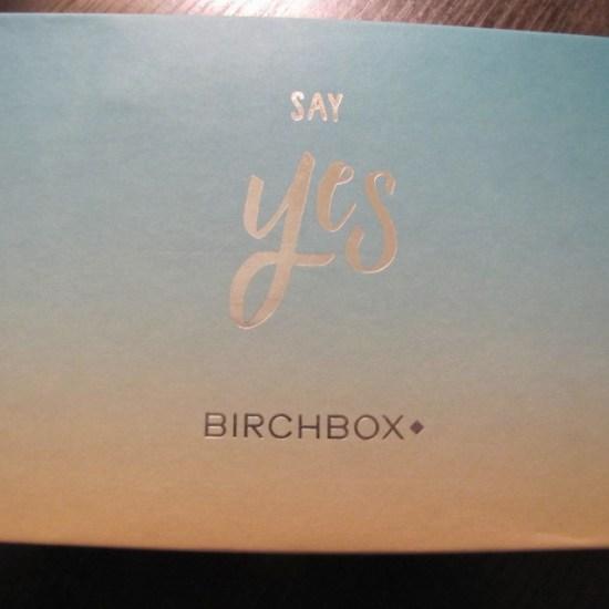 Say Yes Birchbox
