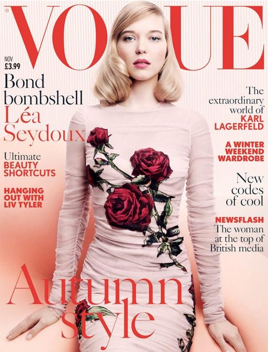 Lea-Seydoux-Vogue-UK-November-2015-Cover