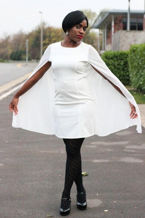 OOTD Cape Dress