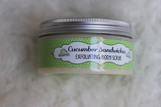 Cucumber Sandwiches Scrub Image