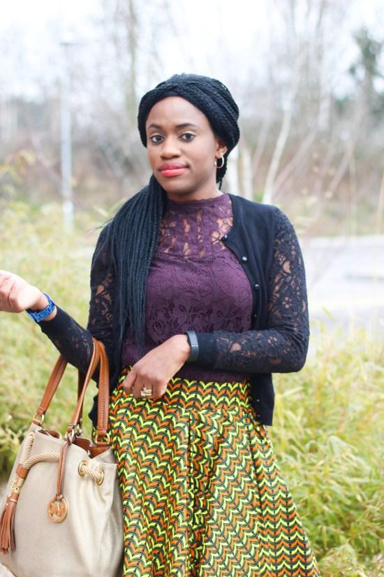 African Skater Skirt Image