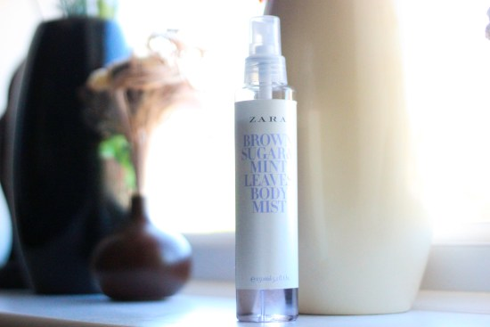 Zara Brown Sugar Mint Leave Body Mist Image