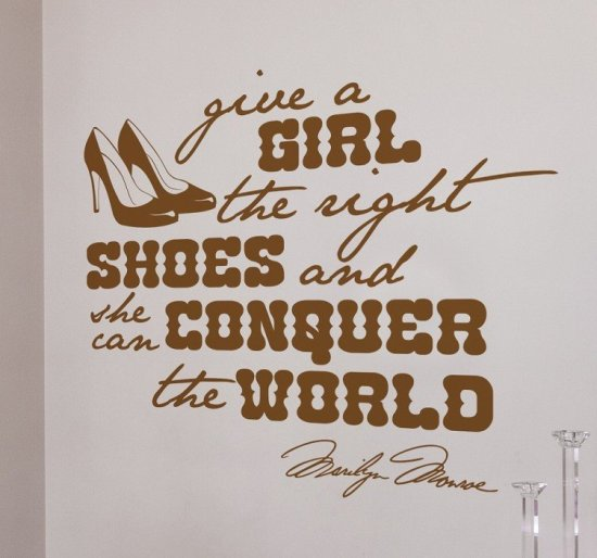 right-shoes-marilyn-monroe-quote-wall-sticker-8941